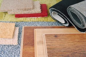 carpet and laminate flooring to choose from